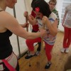c. circus skills workshops - stiltwalking