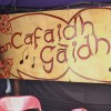 e) Pop Up Gaelic Café