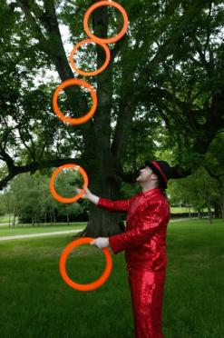 Ring Juggling - Stephen McGinley