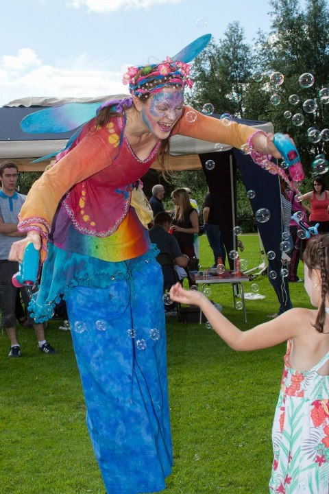a. rainbow bubble fairy irish-language fun day